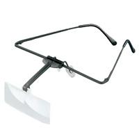 ラボ・フレーム [labo-med] フレーム + レンズ 1枚セット 3倍 眼鏡のように耳に掛ける フレームタイプ 両眼レンズ 164453 ヘッドルーペより気軽です エッシェンバッハ