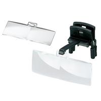ラボ・クリップ [labo-clip] クリップ + レンズ 2枚セット 2・3倍 眼鏡にはさむ クリップタイプ 両眼レンズ 1646213  ヘッドルーペより気軽です エッシェンバッハ