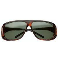 オーバーサングラス グレー 大 紫外線を防ぐサングラス 16603802