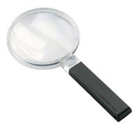 虫眼鏡 手持ちルーペ 2倍 100mm 定番 2642100 広視野ルーペ [biconvex magnifiers] エッシェンバッハ