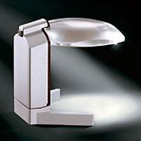虫眼鏡 LEDライト付き デスクルーペ スクリボラックス 1565-1 エッシェンバッハ