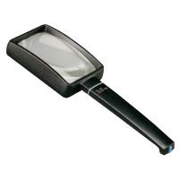 虫眼鏡 ブラックルーペ 角型 3.5倍 75×50mm 2655-750 拡大鏡 エッシェンバッハ エッシェンバッハ