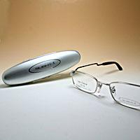 [シニアグラス] カンダオプティカル スライト2 シルバー/ブラック 老眼鏡 強度 男性 おしゃれ