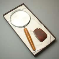 拡大鏡ギフトセットG−4 池田レンズ 虫眼鏡 ルーペ 拡大鏡