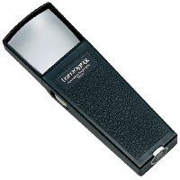 虫眼鏡 角型ライトルーペ40 G-7501 2倍 40×40mm 池田レンズ 拡大鏡 虫めがね