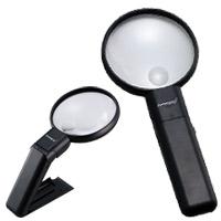 虫眼鏡 マルチライトルーペ G-7561 2倍 90mm 池田レンズ
