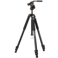 三脚 ABEO[アベオ] 283AV バンガード 一眼レフ コンパクト Vanguard 三脚 写真 撮影機材 トライポッド カメラ 雲台 クイックシュー