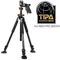 三脚 ABEO Pro[アベオプロ] 283AGH バンガード 一眼レフ コンパクト Vanguard 三脚 写真 撮影機材 トライポッド カメラ 雲台 クイックシュー