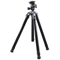 Nivelo[ニヴェロ] 244BK アルミ三脚4段 ブラック バンガード カメラ 一眼レフ 撮影用 コンパクト 一眼レフ デジイチ デジカメ 三脚 VANGUARD カメラ用品 写真