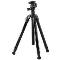 Nivelo[ニヴェロ] 245BK アルミ三脚4段 ブラック バンガード カメラ 一眼レフ 撮影用 コンパクト 一眼レフ デジイチ デジカメ 三脚 VANGUARD カメラ用品 写真