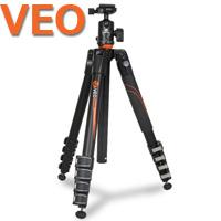 アルミニウムトラベル三脚 VEO[ヴィオ] 265AB 5段 バンガード 一眼レフ コンパクト VANGUARD 三脚 写真 撮影機材 トライポッド カメラ 雲台 クイックシュー