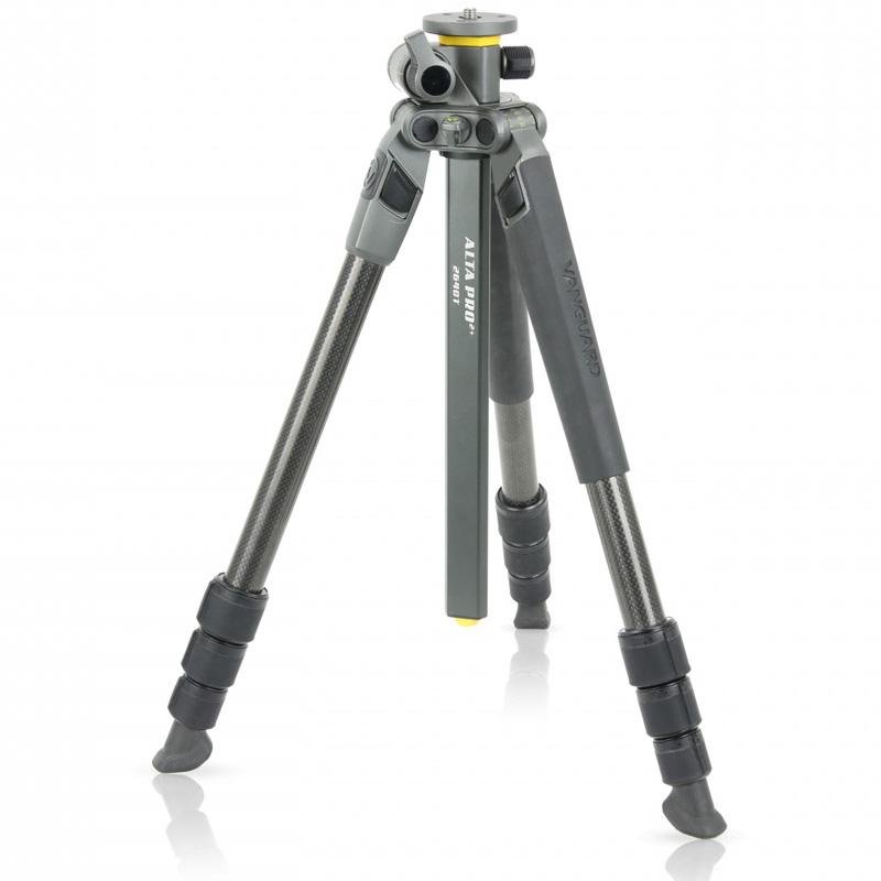 三脚 一眼レフ ビデオカメラ 軽量 コンパクト カメラ カーボン三脚 バンガード ALTA PRO 2+ 264CT おすすめ 軽い 一眼レフ用 カメラ三脚
