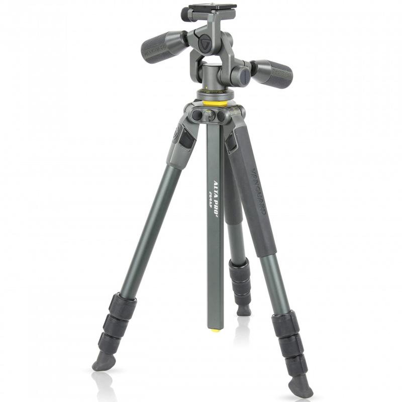 三脚 一眼レフ ビデオカメラ 軽量 コンパクト カメラ アルミ三脚 バンガード ALTA PRO 2 264AP おすすめ 軽い 一眼レフ用 カメラ三脚