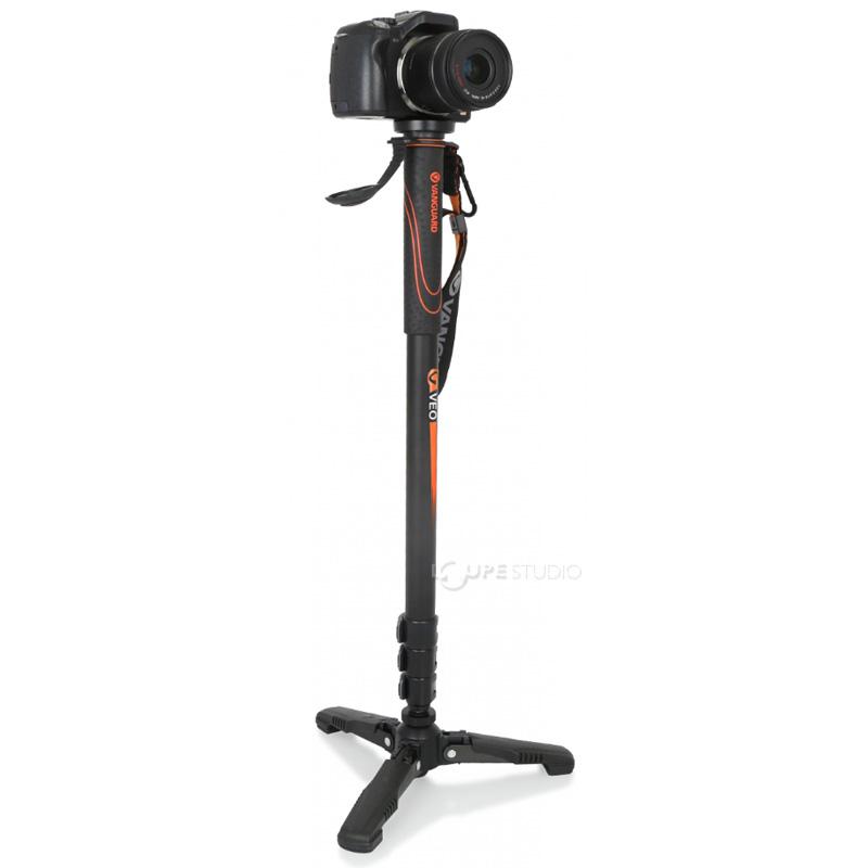 一脚 三脚 一眼レフ ビデオカメラ 自立 軽量 コンパクト カメラ アルミ製 4段 バンガード VEO AM-264TR おすすめ