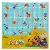 千代紙 ちよがみ くまのプーさん ディズニー 折り紙 おりがみ Disney ディズニー 知育玩具 幼児 子供