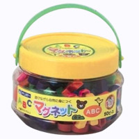 知育玩具 まなびっこ マグネット ABC 磁石 教育 アルファベット英語 英才教育 幼児 子供