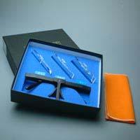 双眼メガネルーペ セット箱入 HF-10ABC 2倍&2.5倍&3倍 クリアルーペ 虫眼鏡 メガネ式 まつげエクステ ネイル ヘッドルーペより気軽です。 池田レンズ