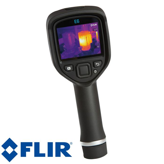 赤外線 サーモグラフィ フリアーE6 FLIR フリアー Ex シリーズ 赤外線サーモグラフィ デジタルカメラ搭載 簡単操作 iPad対応