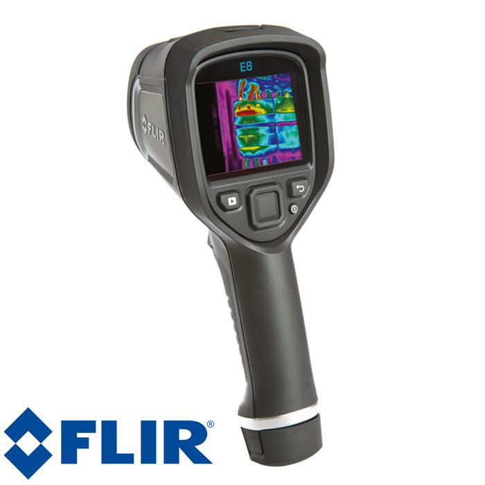 赤外線 サーモグラフィ フリアーE8 FLIR フリアー Ex シリーズ 赤外線サーモグラフィ デジタルカメラ搭載 簡単操作 iPad対応