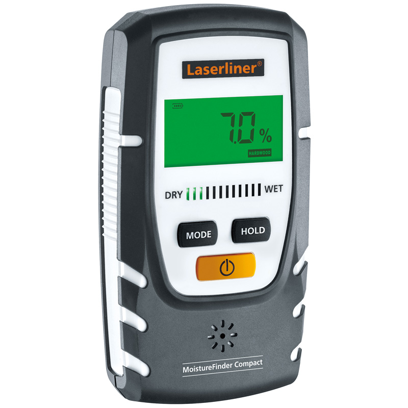 水分計 モイスチャーファインダーコンパクト Laserliner UM082332A UMAREX 乾湿チェック 測定器 木材 資材 建築 石膏 メンテナンス ウマレックス