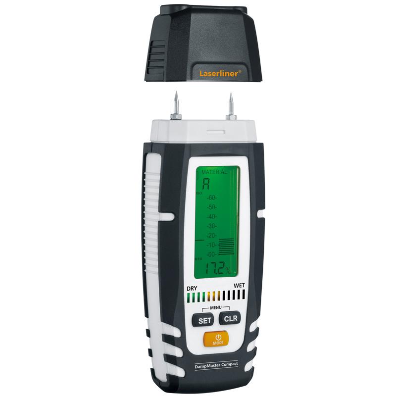 水分計 ダンプマスターコンパクト Laserliner UM082320A UMAREX 乾湿チェック 測定器 木材 資材 建築 石膏 メンテナンス ウマレックス