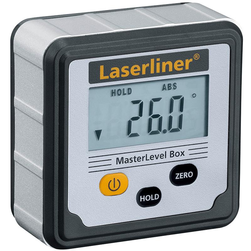 デジタル電子水準器 マスターレベルBOX Laserliner UM081260A UMAREX 水平確認 傾き 測定器 工具 内装 建築 工事 作業