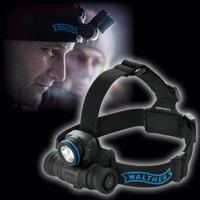 ヘッドライト ワルサープロHL11 WAL-37090 WALTHER LED 強力 乾電池 充電 マルチバッテリー 防災 レジャー