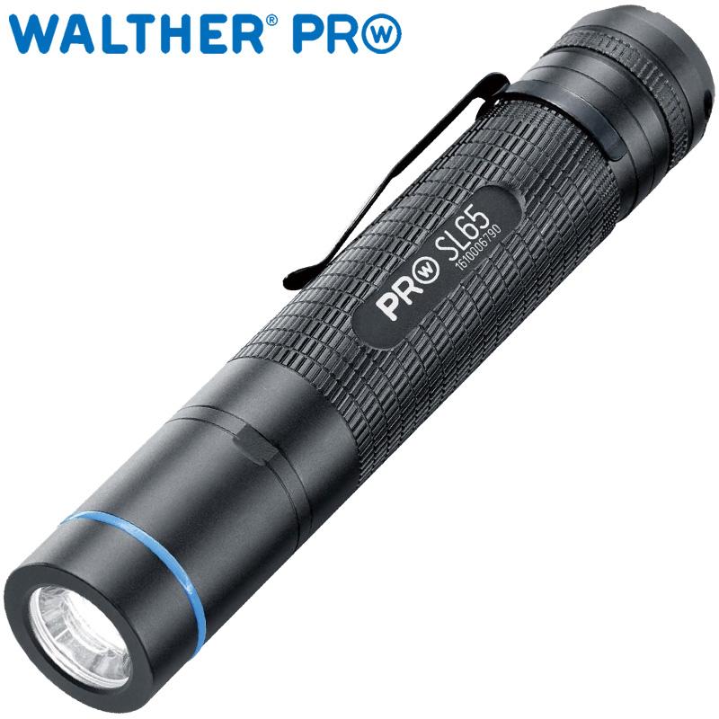 ワルサープロ フラッシュライト ワルサープロSL65 WAL37067 WALTHER LED 照明 強力 懐中電灯 携帯用 ハンディライト アウトドア イベント 防犯 防災 登山