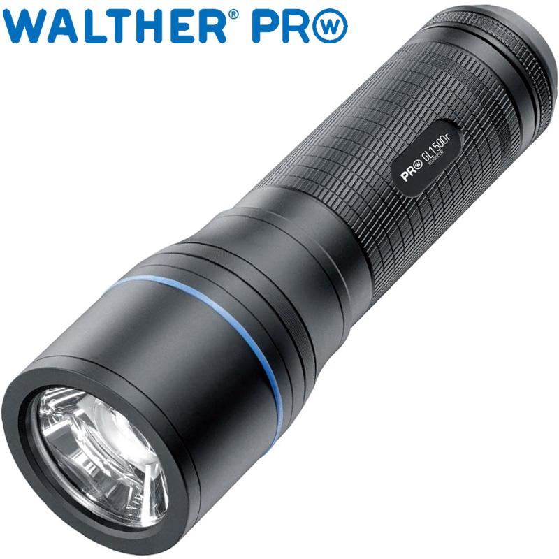 ワルサープロ フラッシュライト ワルサープロGL1500r WAL37093 WALTHER LED 照明 強力 懐中電灯 ハンディライト アウトドア イベント 防犯 防災 登山