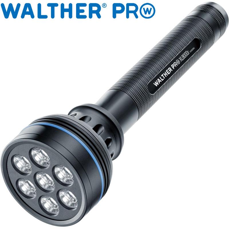 ワルサープロ フラッシュライト ワルサープロXL8000r WAL37094 WALTHER LED 照明 強力 懐中電灯 ハンディライト アウトドア イベント 防犯 防災 登山