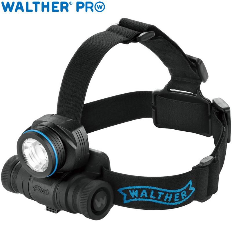 ワルサープロ フラッシュライト ワルサープロHL31r WAL37092 WALTHER ヘッドライト LED 照明 強力 懐中電灯 アウトドア イベント 防犯 防災 登山