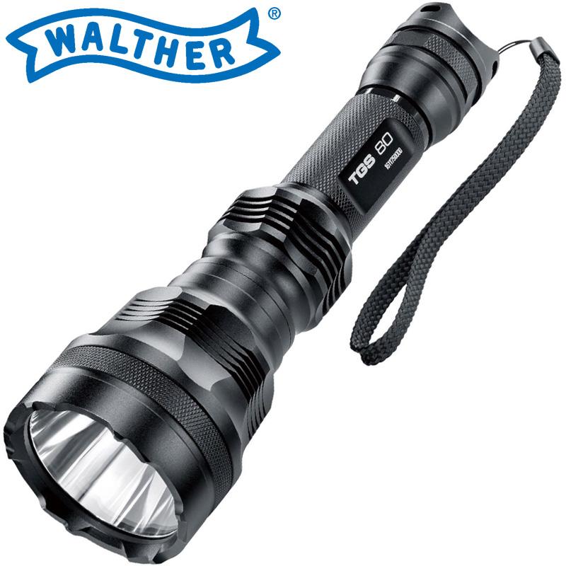 ワルサーフラッシュライト ワルサーTGS80 WAL37111 WALTHER LED 照明 強力 懐中電灯 ハンディライト アウトドア イベント 防犯 防災 登山
