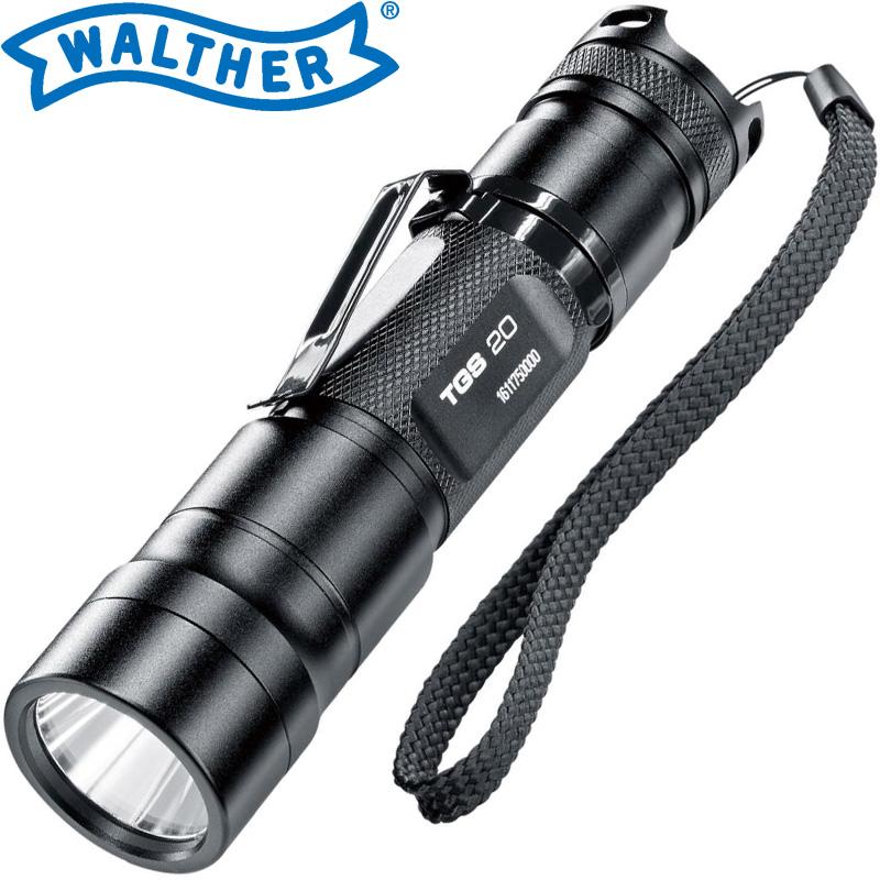 ワルサーフラッシュライト ワルサーTGS20 WAL37107 WALTHER LED 照明 強力 懐中電灯 ハンディライト アウトドア イベント 防犯 防災 登山