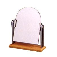 卓上ミラー 木製 スタンドミラー 卓上 [鏡] H-228 シェルダン DX ウッディシリーズ 堀内鏡工業