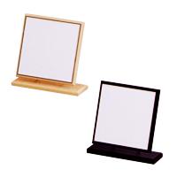 卓上ミラー 木製 スタンドミラー 卓上 [鏡] ウッド 角型 H-300 堀内鏡工業