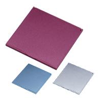 鏡 折りたたみ コンパクトミラー [S] HM-500 スリム & ライト メタリック 堀内鏡工業