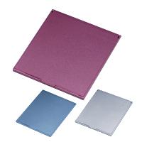 鏡 折りたたみ コンパクトミラー [M] HM-600 スリム & ライト メタリック 堀内鏡工業