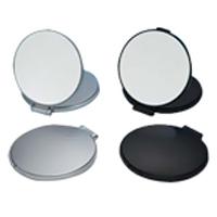 コンパクトミラー 拡大鏡 メイク [拡大ミラー] ナピュアミラー [鏡] リアルズームアップ プラス 両面 7倍 RC-07 折りたたみ 化粧 堀内鏡工業
