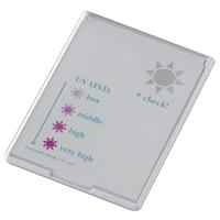鏡 折りたたみ UV レベル チェッカー ミラー [コンパクトタイプ] UV-003 堀内鏡工業