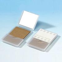 UV レベル チェック ミラー [あぶら取り紙付き ] UV-005 【紫外線 UV チェックミラー 紫外線で色が変わる】 堀内鏡工業