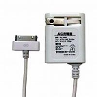 HORIC AC充電器 出力1A iPhone/iPad/iPod用 ケーブル長:1.0m ホワイト ホーリック