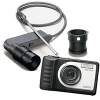 工業用 内視鏡 ファイバースコープ デジカメセット [ステンレスパイプタイプ] 内視鏡 ファイバースコープ デジカメセット