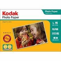 Kodak フォトペーパー 180g L判 200枚 KPE-200L Kenko ケンコー