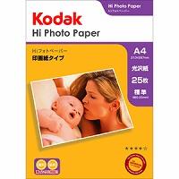 Kodak Hiフォトペーパー 250g A4 25枚 KPP-25A4 Kenko ケンコー