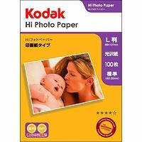 Kodak Hiフォトペーパー 250g L判 100枚 KPP-100L Kenko ケンコー