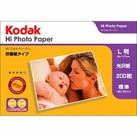Kodak Hiフォトペーパー 250g L判 200枚 KPP-200L Kenko ケンコー