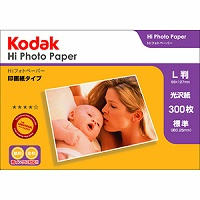 Kodak Hiフォトペーパー 250g L判 300枚 KPP-300L Kenko ケンコー