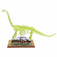 恐竜 骨格模型 組み立て ブラキオサウルス スケルトン[蓄光] イーストコライト #28211 EASTCOLIGHT