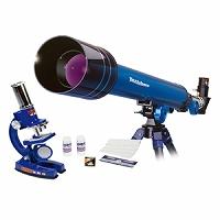 理科の自由研究セット 60X 天体望遠鏡 +450X 顕微鏡 セット #2038 EASTCOLIGHT ケンコー