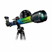 入学祝い 小学校 天体望遠鏡 375X GR-BL HC EASTCOLIGHT #32033 ケンコー